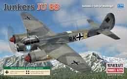 Junkers Ju-88 A · MIN 14618 ·  Minicraft Model Kits · 1:144