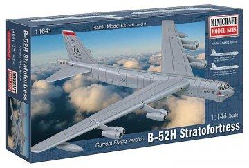 B-52H Stratofortress · MIN 14641 ·  Minicraft Model Kits · 1:144