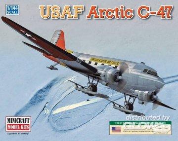 USAF Arctic C-47 · MIN 14671 ·  Minicraft Model Kits · 1:144