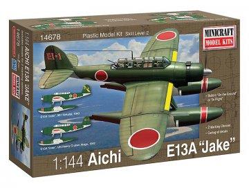 Aichi Jake (2 IJN decal/marking options) · MIN 14678 ·  Minicraft Model Kits · 1:144