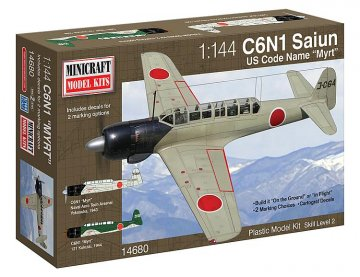 Nakajima Myrt (2IJN decal/marking opt.) · MIN 14680 ·  Minicraft Model Kits · 1:144