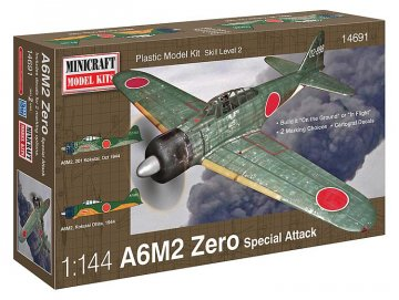 A6M2 Zero · MIN 14691 ·  Minicraft Model Kits · 1:144