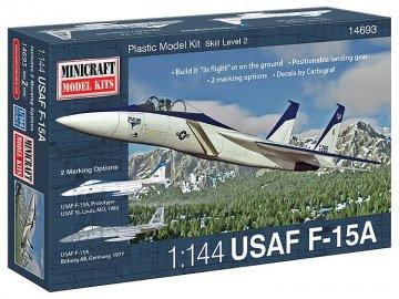 USAAF F-15A · MIN 14693 ·  Minicraft Model Kits · 1:144