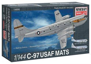 C-97 USAF MATS · MIN 14695 ·  Minicraft Model Kits · 1:144