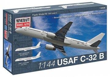 USAF C-32B · MIN 14696 ·  Minicraft Model Kits · 1:144