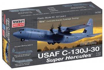 Lockheed C-130J-30 Super Hercules · MIN 14700 ·  Minicraft Model Kits · 1:144