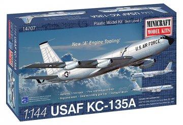 KC-135A USAF SAC · MIN 14707 ·  Minicraft Model Kits · 1:144