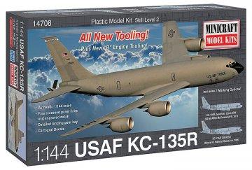 KC-135R USAF · MIN 14708 ·  Minicraft Model Kits · 1:144