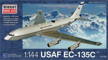 EC-135C USAF · MIN 14709 ·  Minicraft Model Kits · 1:144