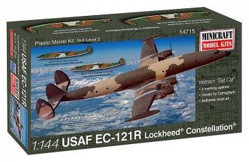 EC-121R USAF Viet Nam Bat Cat · MIN 14715 ·  Minicraft Model Kits · 1:144