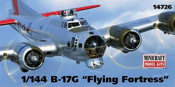 B17G Flying Fortress · MIN 14726 ·  Minicraft Model Kits · 1:144