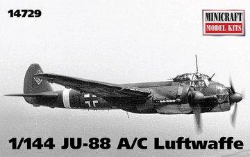 Junkers Ju 88 A/C · MIN 14729 ·  Minicraft Model Kits · 1:144