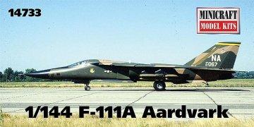 F111A Aardvark · MIN 14733 ·  Minicraft Model Kits · 1:144