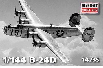 B24D · MIN 14735 ·  Minicraft Model Kits · 1:144