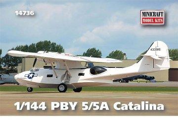 PBY 5/5A Catalina · MIN 14736 ·  Minicraft Model Kits · 1:144