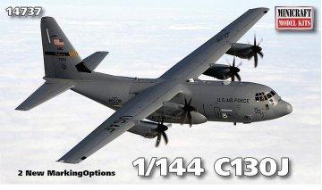 C130J · MIN 14737 ·  Minicraft Model Kits · 1:144