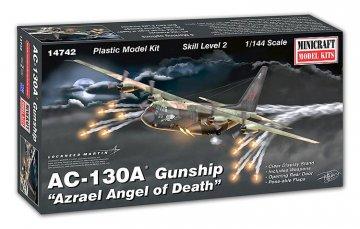 AC-130A Gunship · MIN 14742 ·  Minicraft Model Kits · 1:144