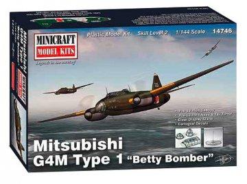 Mitsubishi G4M, Type 1 · MIN 14746 ·  Minicraft Model Kits · 1:144
