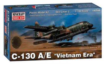 C-130 A/E Vietnam Ära · MIN 14748 ·  Minicraft Model Kits · 1:144