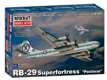 RB-29 Superfortress · MIN 14749 ·  Minicraft Model Kits · 1:144