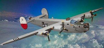 B-24J Liberator · MIN 14750 ·  Minicraft Model Kits · 1:144