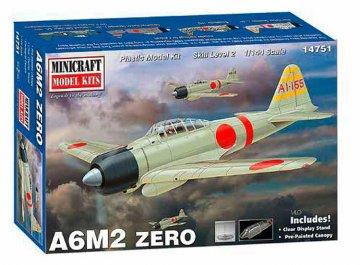 A6M2 Zero · MIN 14751 ·  Minicraft Model Kits · 1:144
