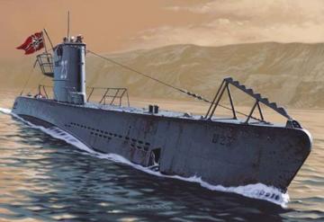 U-Boot IIB PE set · MG 00440024 ·  Mirage Hobby · 1:400