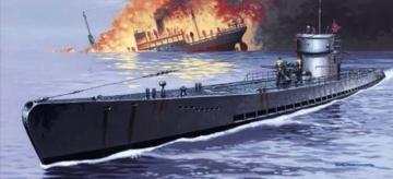 U-Boot IXC - PE set · MG 01740041 ·  Mirage Hobby · 1:400