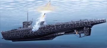 U-Boot IXC Turm I with WG42 · MG 02540042 ·  Mirage Hobby · 1:400