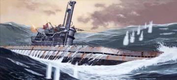 U-Boot IX C/40 - PE Set · MG 02640044 ·  Mirage Hobby · 1:400