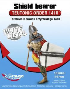 Shield OrderTeutonic Order 1410 - White Metal · MG 135004 ·  Mirage Hobby · 1:35