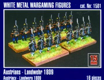 Österreichische Landwehr 1809 · MG 1501 ·  Mirage Hobby · 1:120