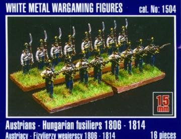 Österreichisch-ungarische Füsiliere 1806-1814 · MG 1504 ·  Mirage Hobby · 1:120