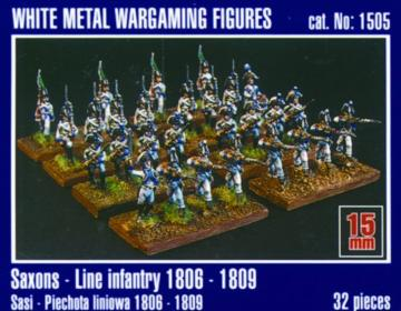 Sachsen Linieninfanterie 1806-1809 · MG 1505 ·  Mirage Hobby · 1:120