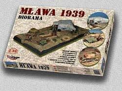 Diorama Mlawa, Polen 1939 · MG 35103 ·  Mirage Hobby · 1:35