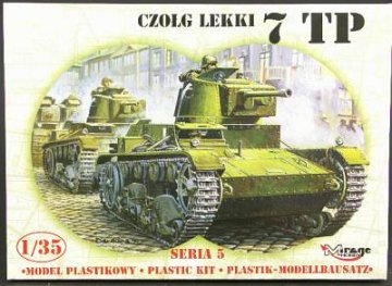 Leichter Panzer 7TP Limited Edition · MG 35301 ·  Mirage Hobby · 1:35