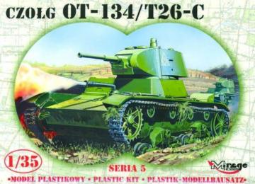Leichter Panzer OT-134 / T-26-C Limited Edition · MG 35309 ·  Mirage Hobby · 1:35