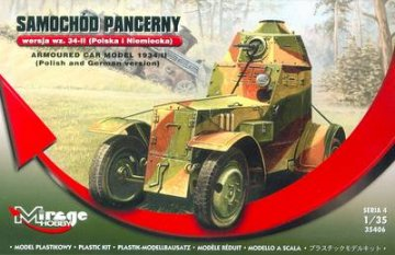 Armoured Car Model 1934/II (Polish and G · MG 35406 ·  Mirage Hobby · 1:35