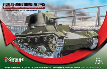 Vickers-Armstrong Mk F/45 · MG 355011 ·  Mirage Hobby · 1:35