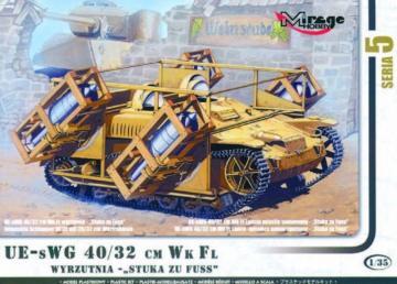 Stuka zu Fuss mit Wurfrahmen 40/32 cm · MG 35519 ·  Mirage Hobby · 1:35