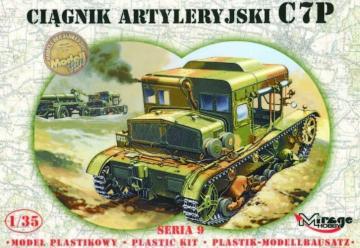 Schwerer Artillerie Traktor C7P · MG 35901 ·  Mirage Hobby · 1:35