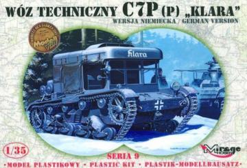 Bergepanzer Klara C7P Beuteversion · MG 35902 ·  Mirage Hobby · 1:35