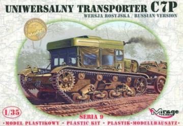 Universal Traktor C7P · MG 35903 ·  Mirage Hobby · 1:35