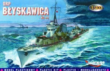 Zerstörer ORP Blyskawica 1944 · MG 40011 ·  Mirage Hobby · 1:400