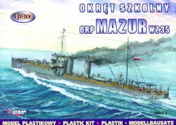 Torpedoboot Mazur 1935 · MG 40021 ·  Mirage Hobby · 1:400