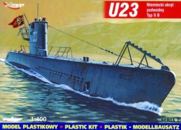 Deutsches U-Boot U 23 Typ IIB · MG 40024 ·  Mirage Hobby · 1:400