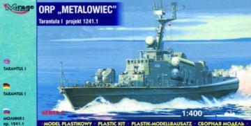 ORP Metalowiec Tarantul I Korvette · MG 40032 ·  Mirage Hobby · 1:400