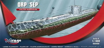 Polnisches U-Boot ORP SEP · MG 40048 ·  Mirage Hobby · 1:400