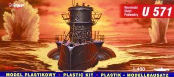 Deutsches U-Boot U 571 Special Edition · MG 40049 ·  Mirage Hobby · 1:400