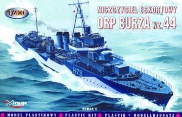 Zerstörer ORP Burza 1944 · MG 40066 ·  Mirage Hobby · 1:400